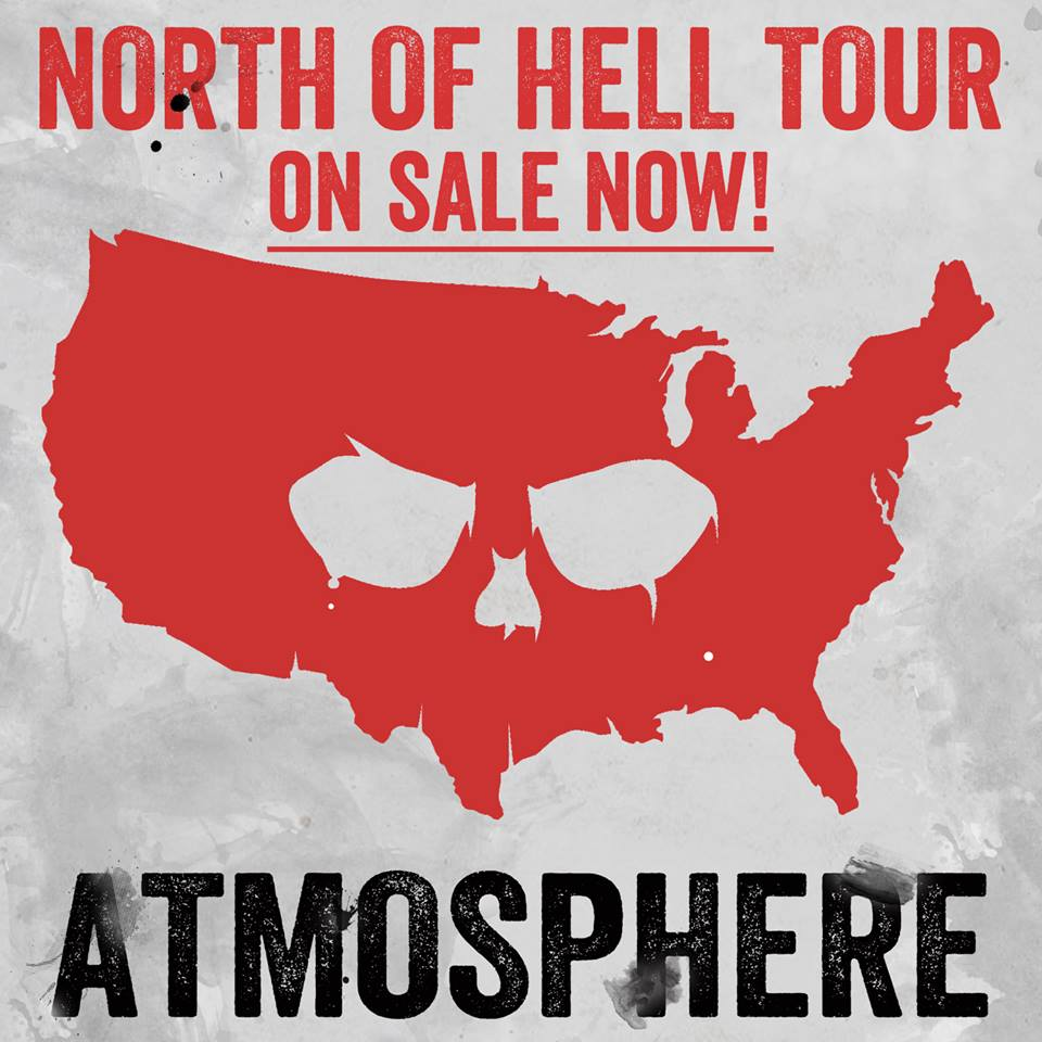 North of Hell Tour - poster