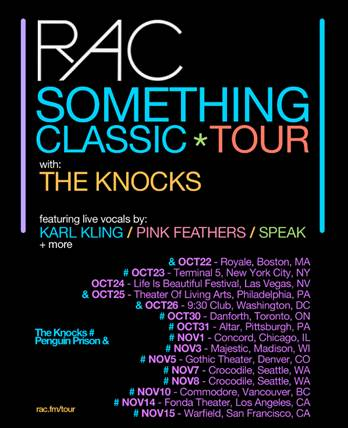 Something Classic Tour - poster