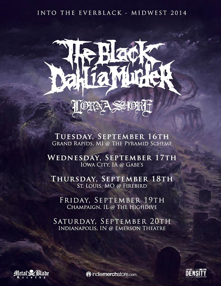 The-Black-Dahlia-Murder-Midwest-Tour-poster