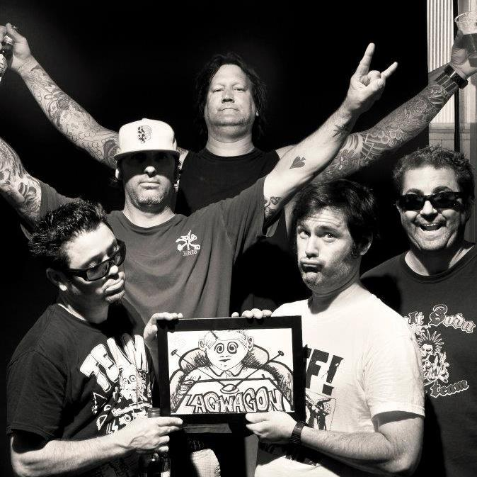 Lagwagon Announces European Tour With The Flatliners