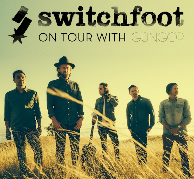 Switchfoot Fading West Tour - poster
