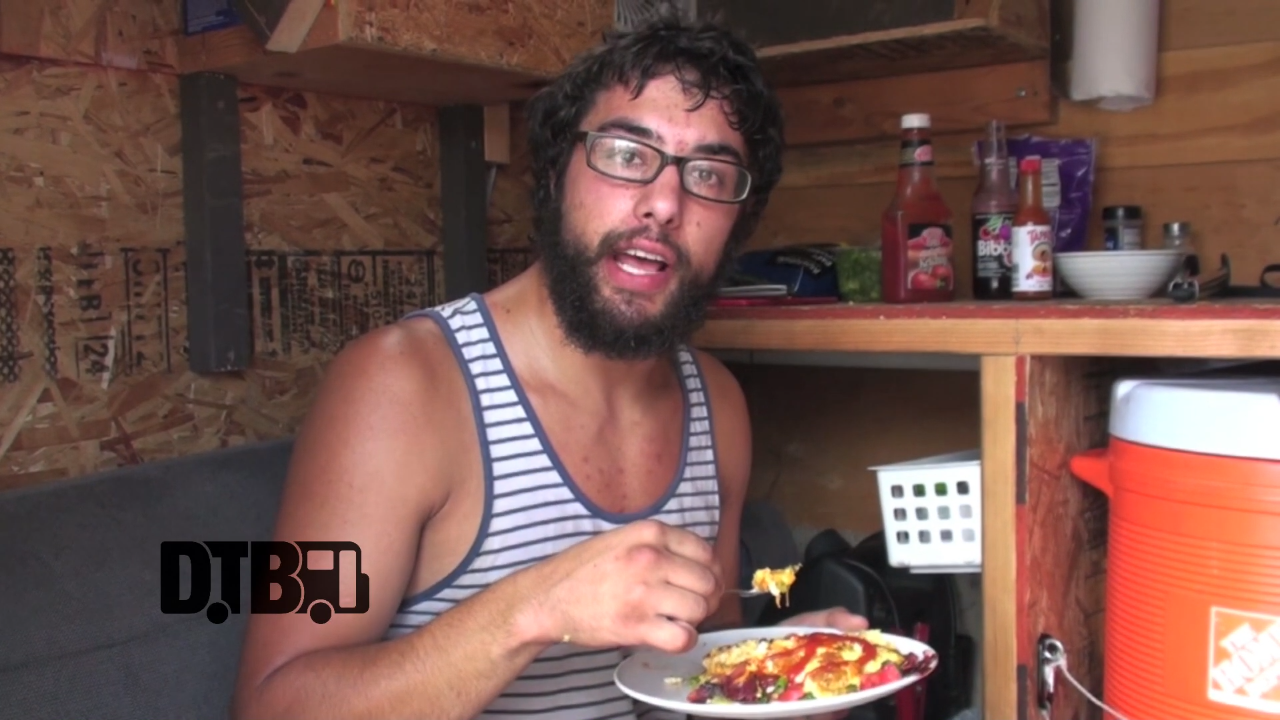 The Ongoing Concept's Kyle Scholz Prepares An Omelette – COOKING AT 65MPH Ep. 4 [VIDEO]