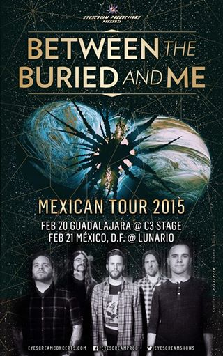 Between-The-Buried-And-Me-Mexico-Tour-poster