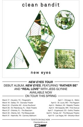 Clean-Bandit-New-Eyes-Tour-poster