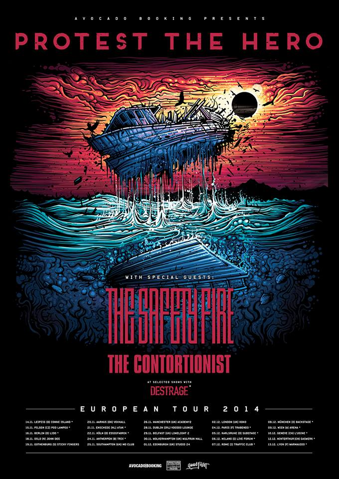Protest-The-Hero-Updated-Europe-Winter-Tour-poster