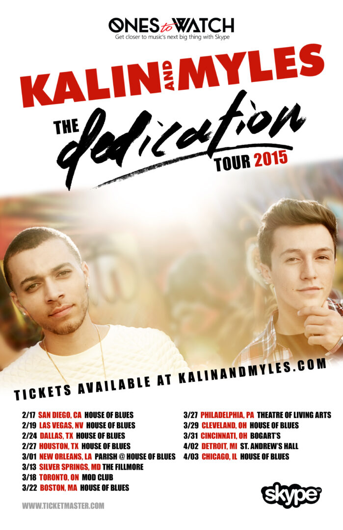 "Kalin & Myles' ""The Dedication Tour"" – Ticket Giveaway"