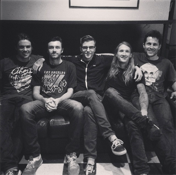 Saosin Announces U.S. Shows With Anthony Green