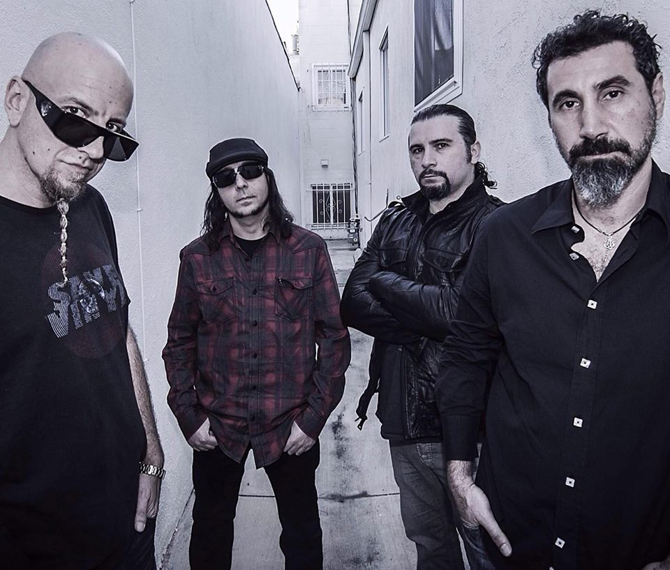 """System Of a Down Announce the """"Wake Up The Souls Tour"""""""