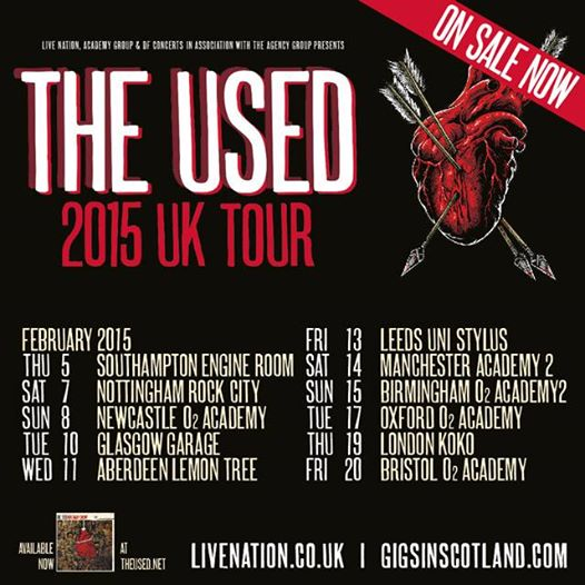 The-Used-2015-Winter-UK-Tour-poster