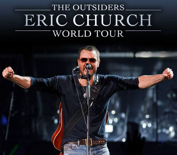 Eric Church - The Ousiders World Tour - poster