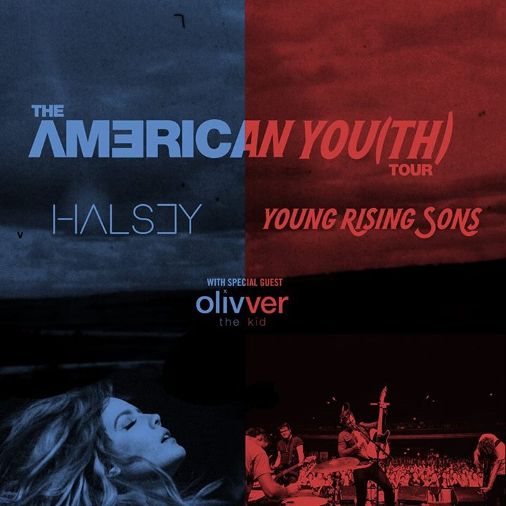 Halsey-Young-Rising-Sons-The-American-You(th)-Tour-poster