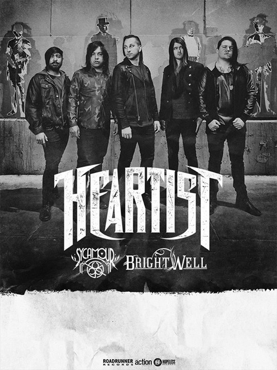 Heartist - U.S. Headlining Winter 2015 Tour - poster