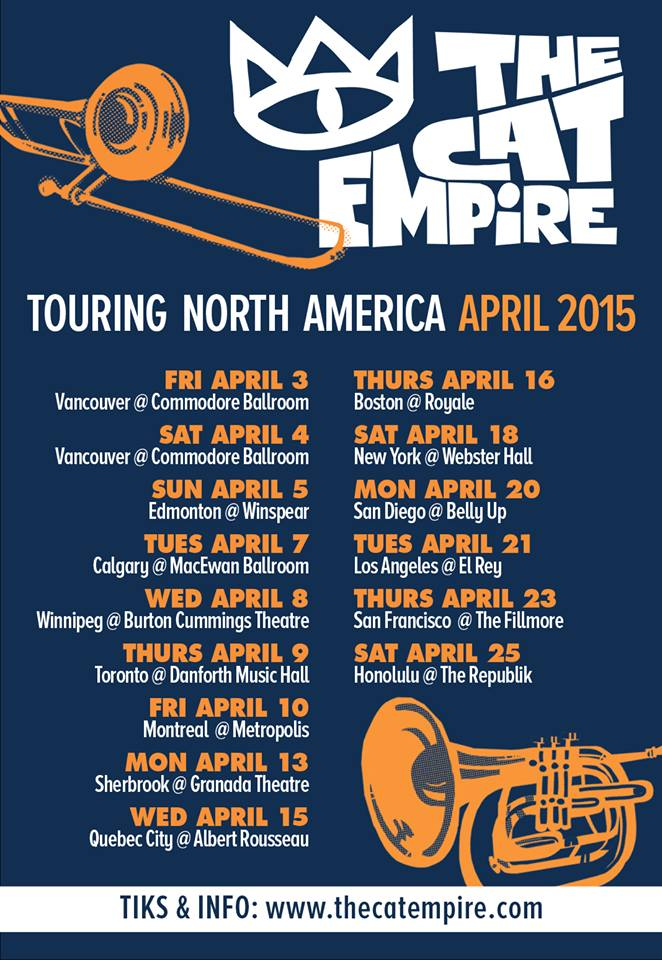 The-Cat-Empire-North-American-Spring-Tour-poster