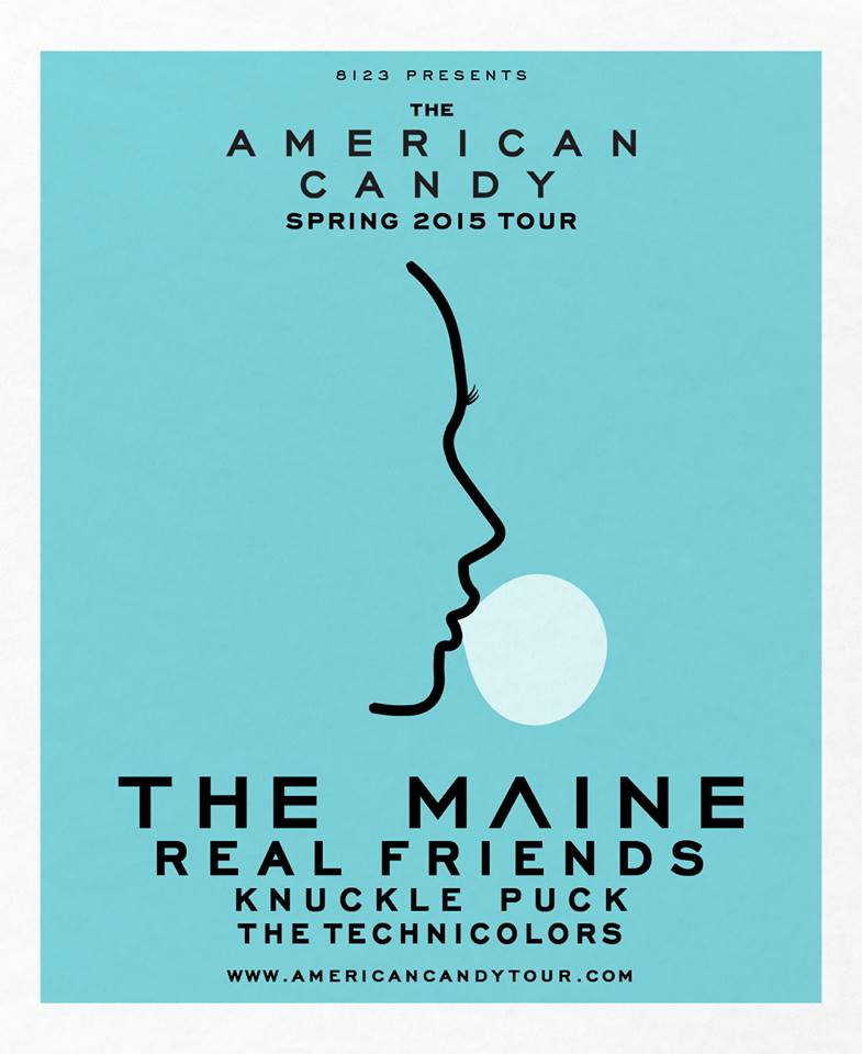 The-Maine-American-Candy-Tour-poster
