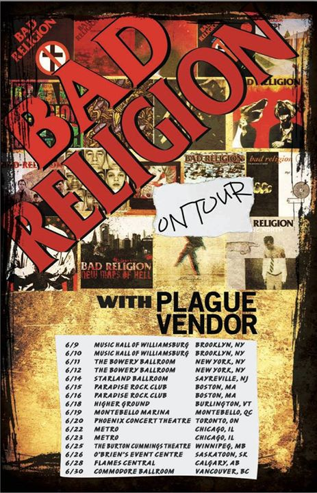 Bad-Religion-North-American-Spring-Tour-poster
