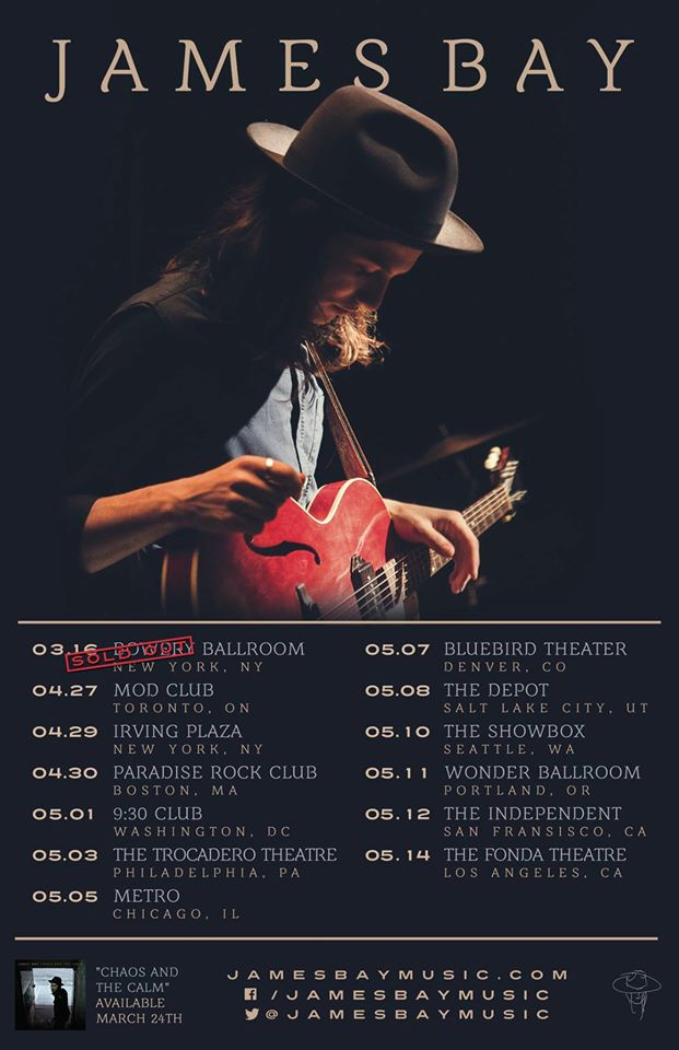 James-Bay-Spring-U.S.-Tour-poster