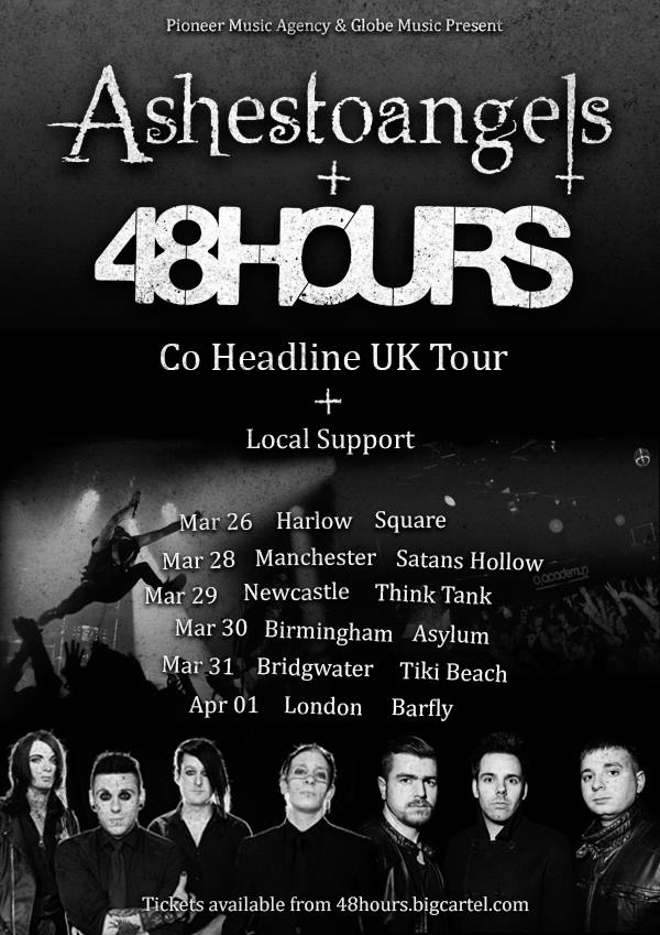 48Hours - UK tour - Poster - 2015