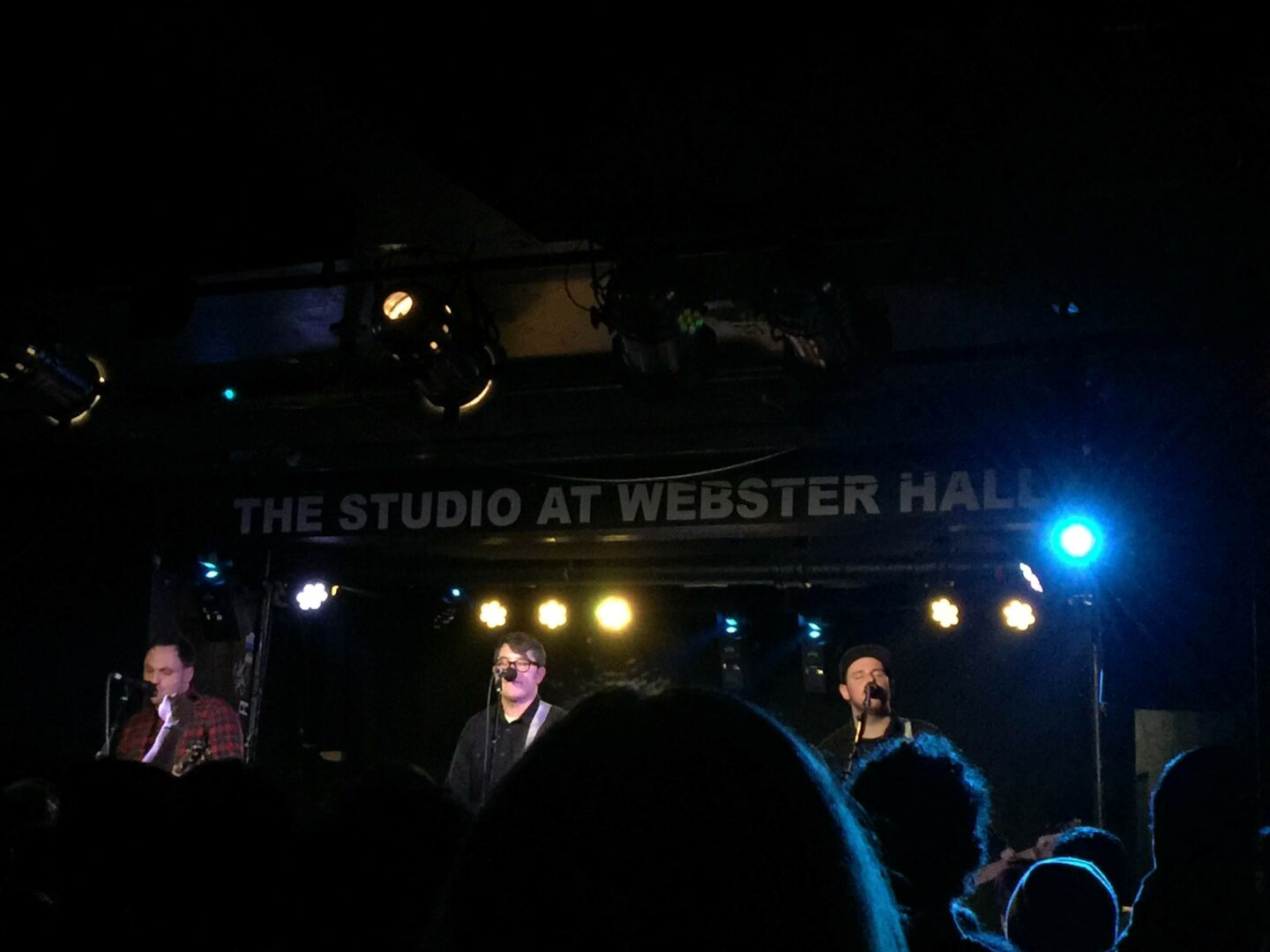 We caught Hawthorne Heights set downstairs after ours at Webster Hall in NYC.
