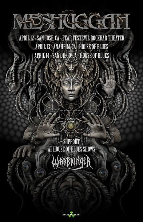Meshuggah-California-Tour