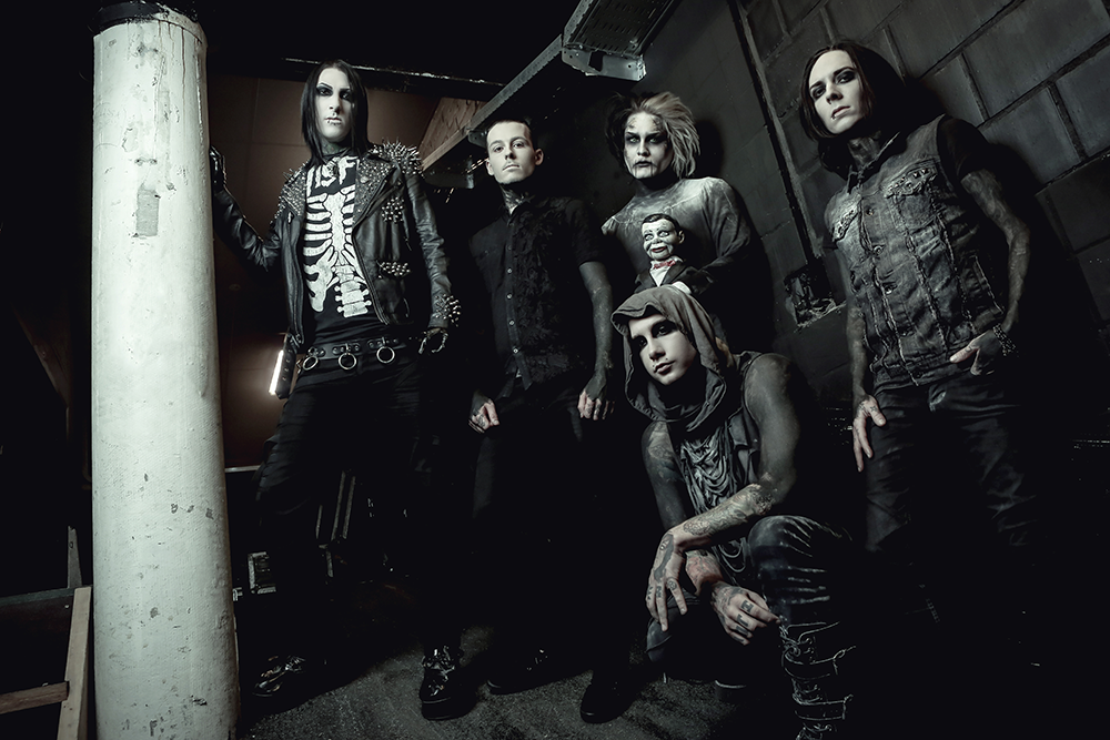Motionless In White Involved In Van Accident / Will Continue Tour As Planned