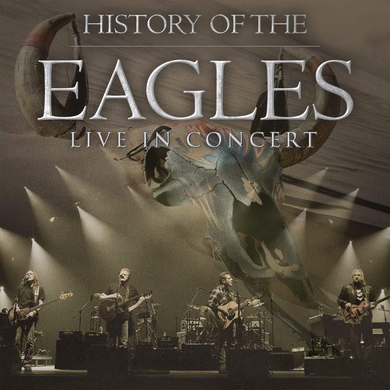 The Eagles - History of the Eagles North Amercian Tour - poster