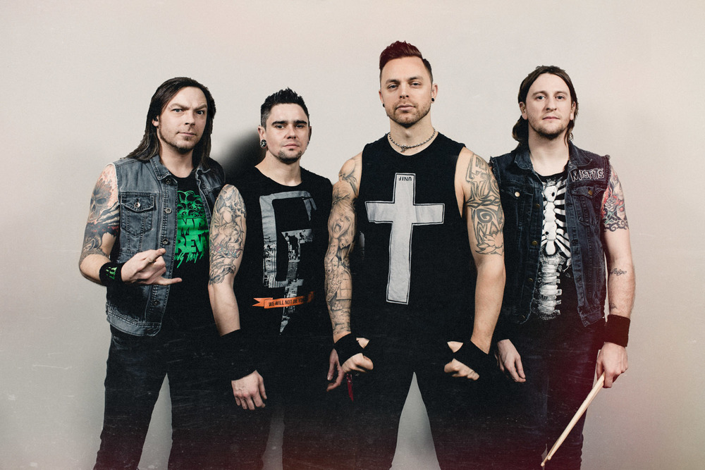 Bullet For My Valentine Announce North American Spring Tour