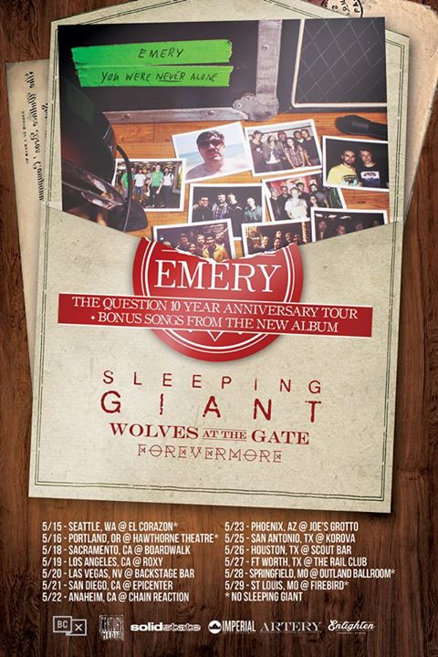 Emery-The-Question-10-Year-Tour-poster