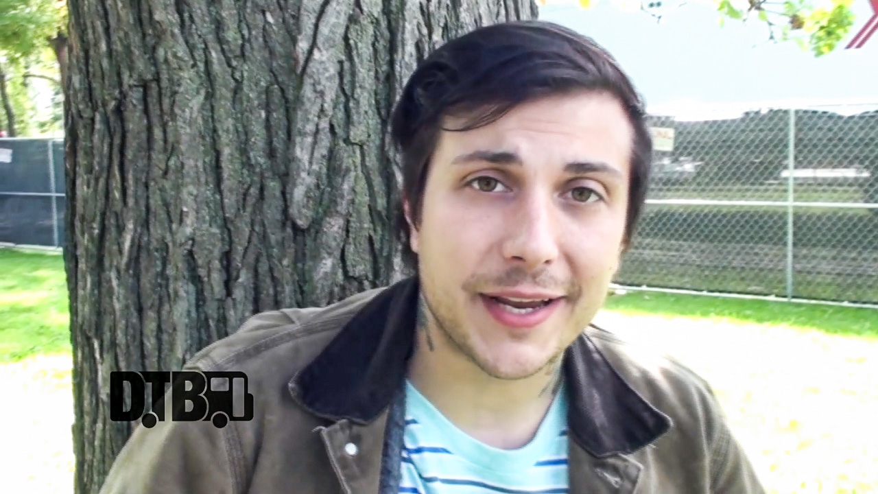 Frank Iero (of FrnkIero And The Cellabration and My Chemical Romance) – TOUR PRANKS Ep. 53 [VIDEO]