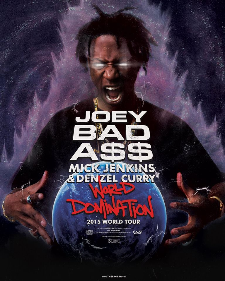 Joey Bada$$ - World Domination Tour - poster