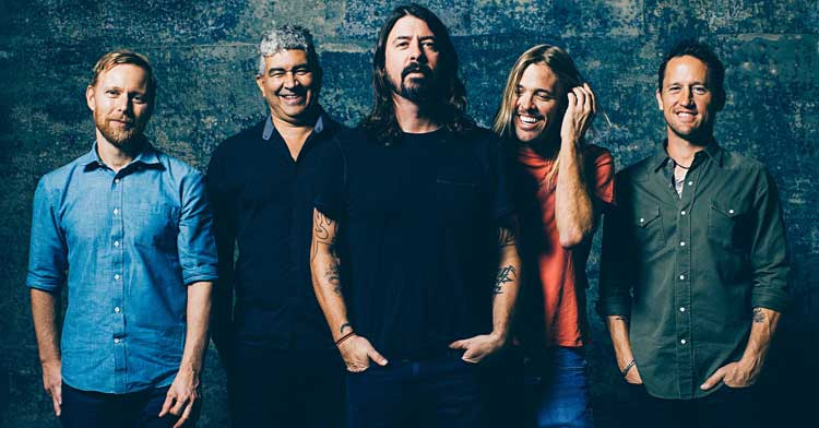 Foo Fighters Announces Support Acts for June UK Tour
