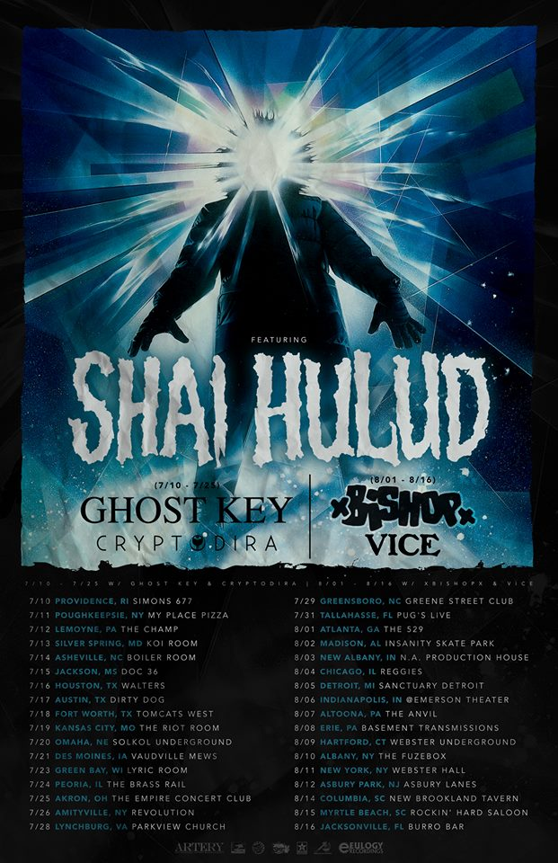 Shai Hulud -Summer 2015 Tour