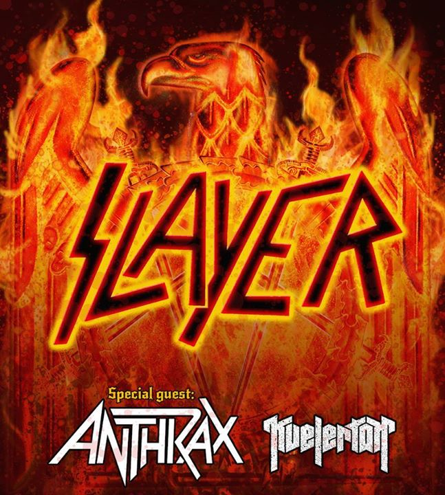 Slayer - European Tour 2015 - Tour Poster
