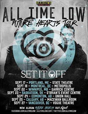 All Time Low & Set It Off Canada Tour