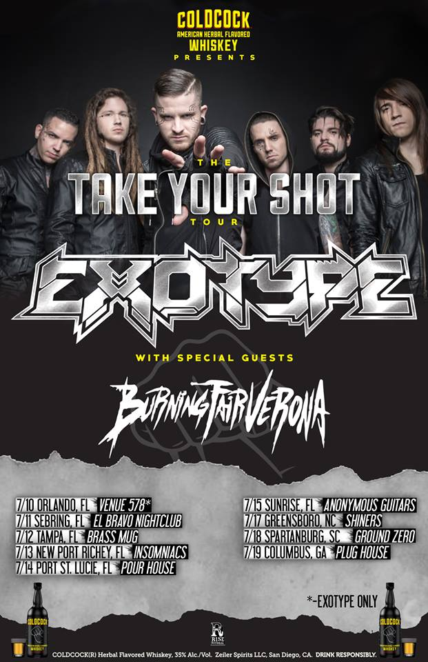 Exotype - Take Your Shot Tour - poster