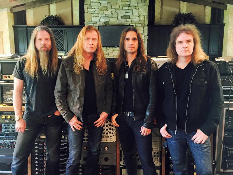 "Megadeth Announces North American Leg of ""Dystopia World Tour"""