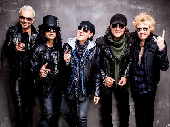 """Scorpions Announce """"Crazy World Tour"""" with Megadeth"""
