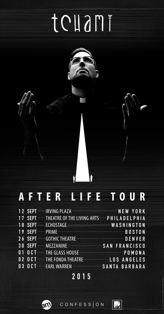 Tchami - After Life North American Tour - 2015 Tour Poster