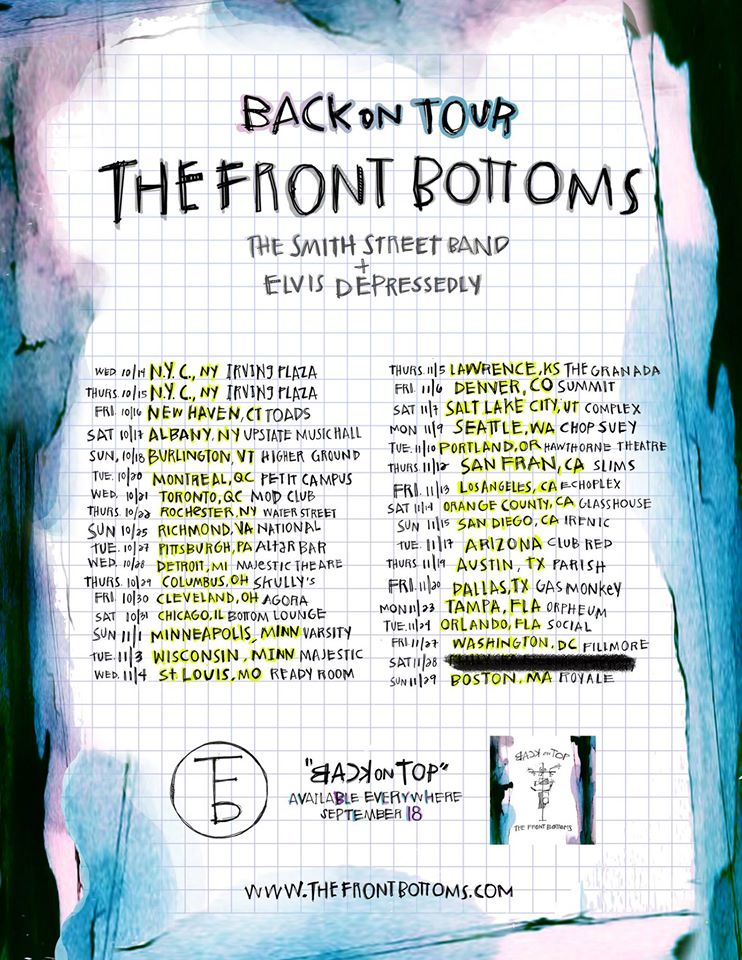 The Front Bottoms - North American Tour