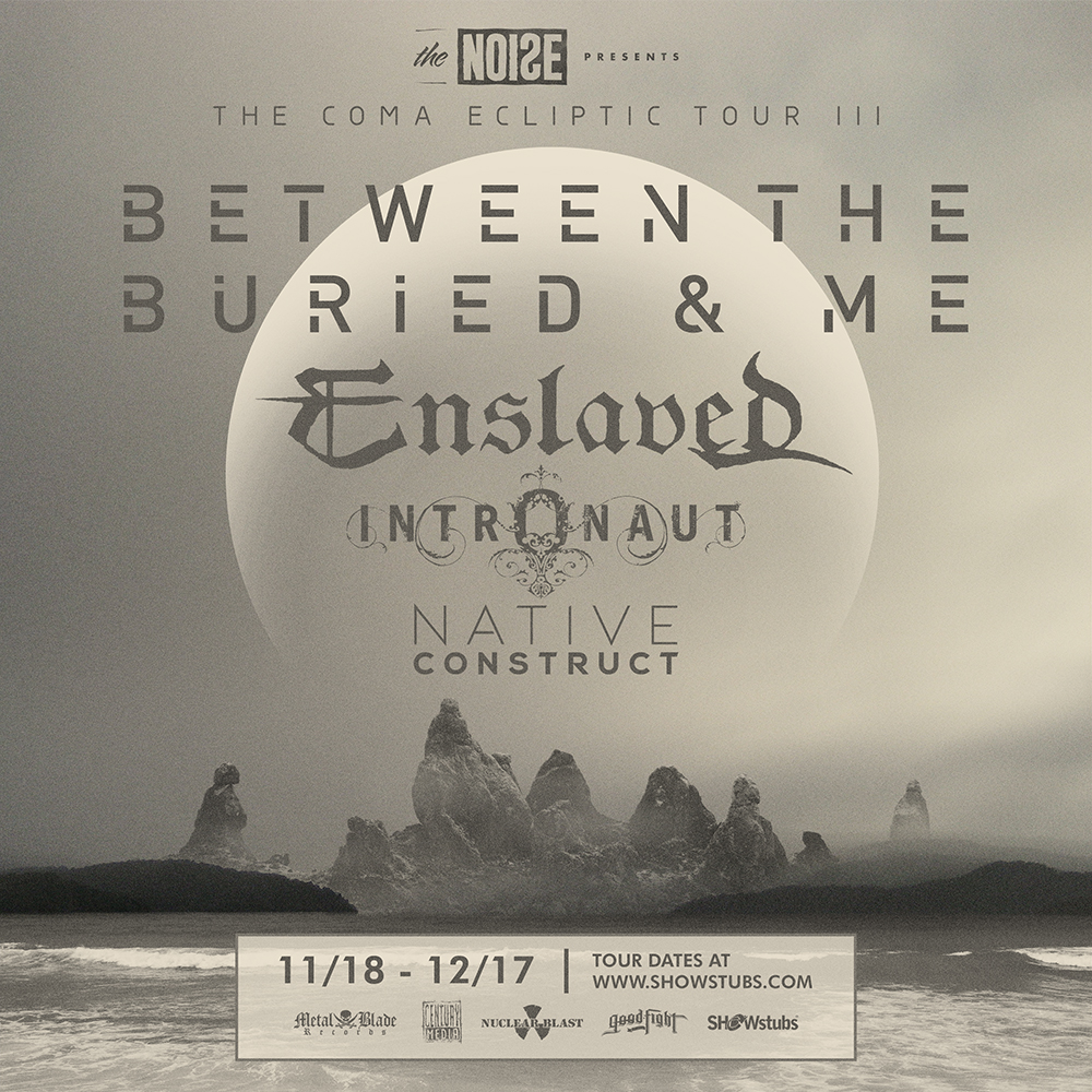 "Between The Buried And Me's ""The Coma Ecliptic Tour III"" – Ticket Giveaway"
