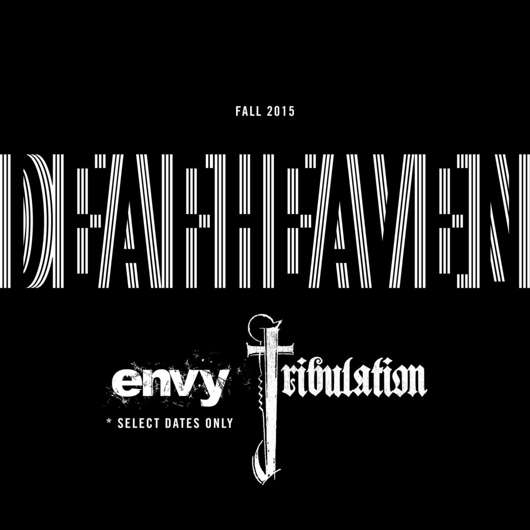 Deafheaven - Fall North American Tour - 2015 Tour Poster