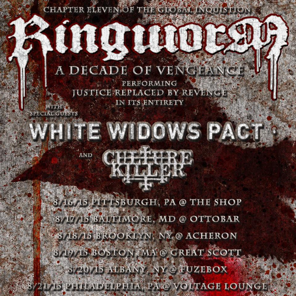 Ringworm - A decade of vengeance