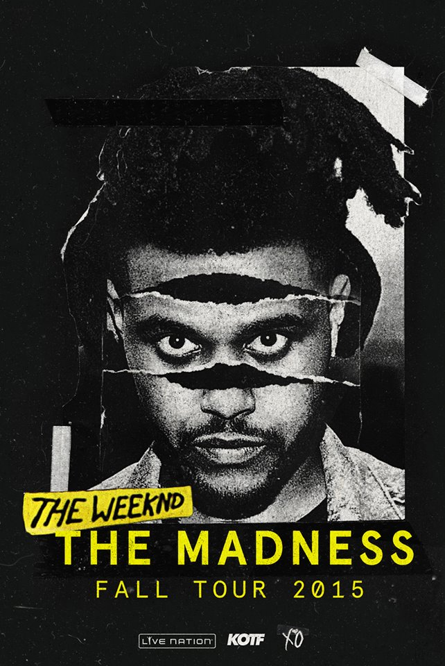 The-Weeknd-Madness-Tour-poster