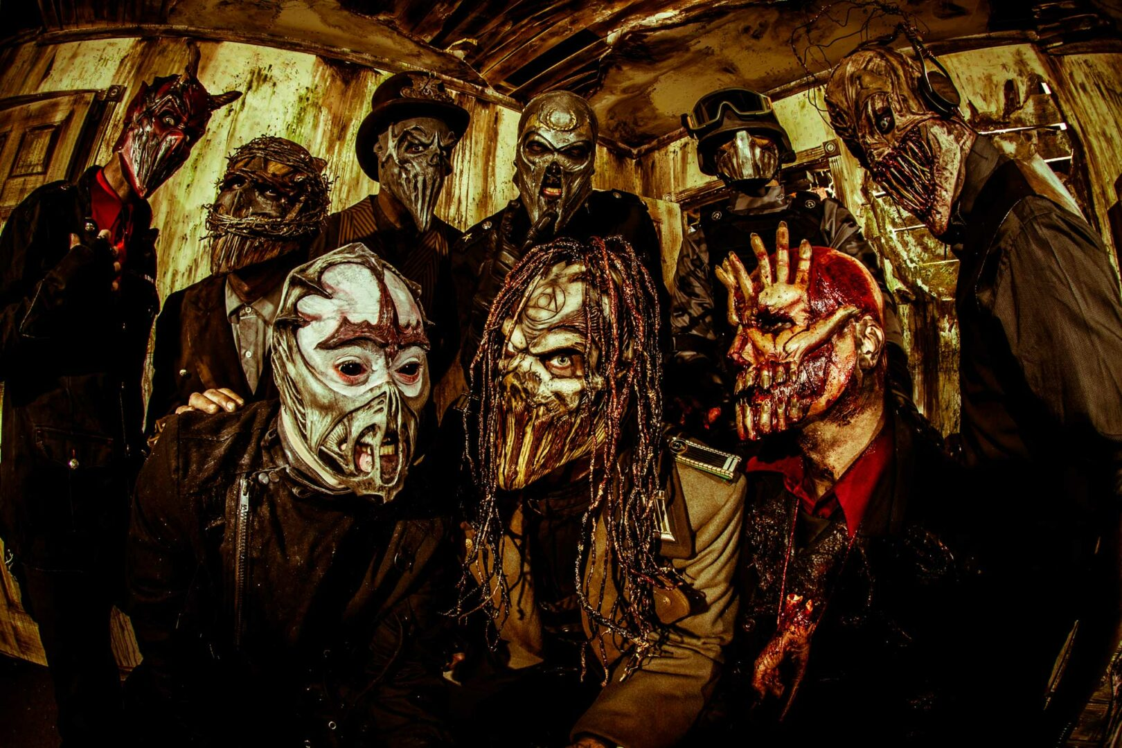 """Mushroomhead Announces """"The Devils Be Damned Tour"""""""