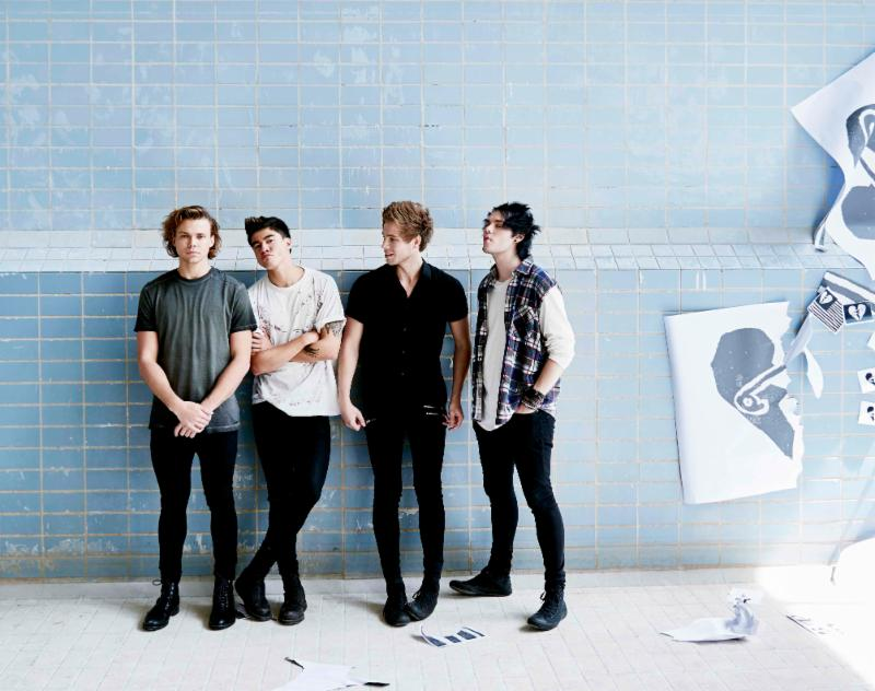 "5 Seconds of Summer Announces European Leg of ""Sounds Live Feels Live Tour"""