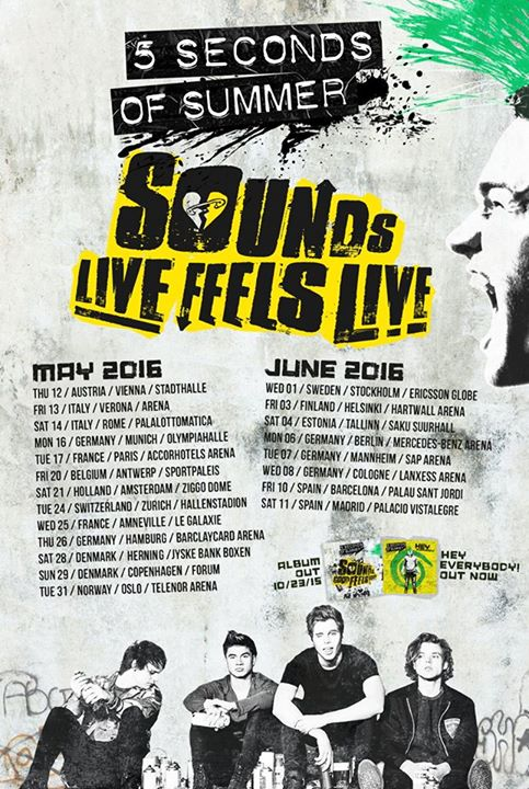 5 Seconds of Summer - Sounds Live Feels Live