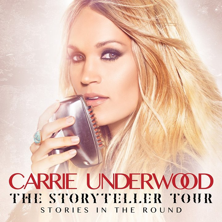 Carrie Underwood - Storyteller Tour - 2016 Tour Poster