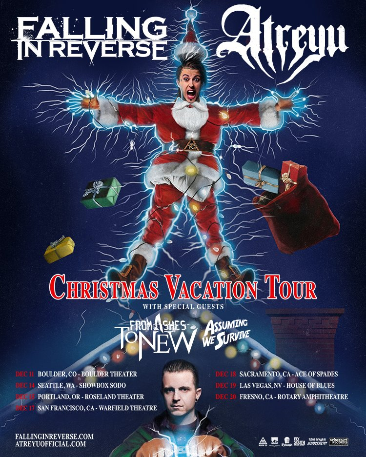 Faling-In-Reverse-Christmas-Vacation-Tour-poster