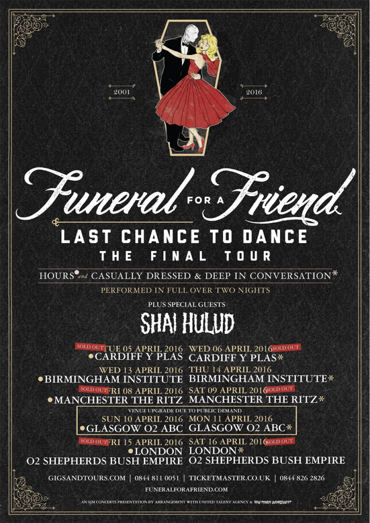 Shai Hulud - Last Chance to Dance - poster