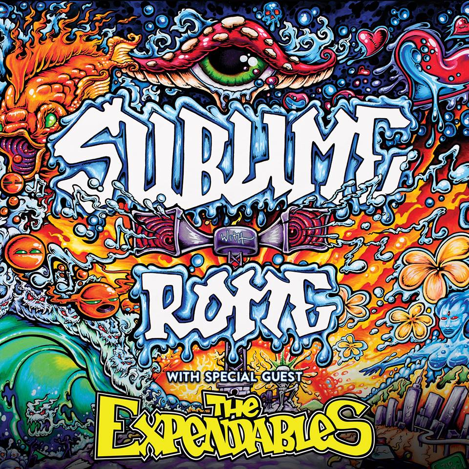 Sublime With Rome's Fall 2015 U.S. Tour with The Expendables – Ticket Giveaway