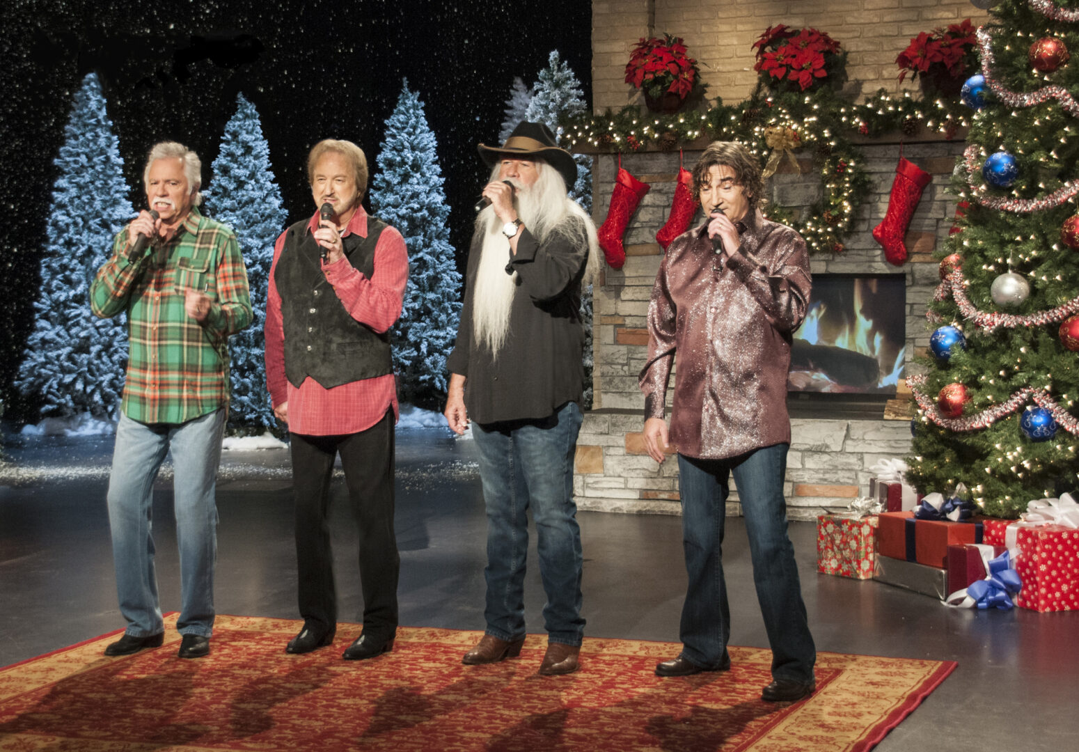 "The Oak Ridge Boys Announce ""Christmas Night Out Tour"""